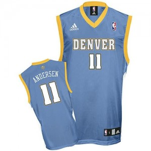 Maglie Shop Andersen Denver Nuggets Blu