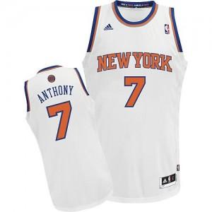 Canotte NBA Rivoluzione 30 Anthony New York Knicks Bianco