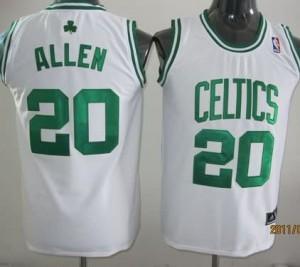 Maglie Bambini Allen Boston Celtics Bianco