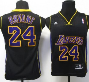 Maglie Bambini Bryant Los Angeles Lakers Nero