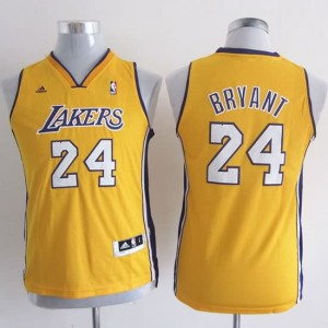 Maglie Bambini Bryant Los Angeles Lakers Giallo