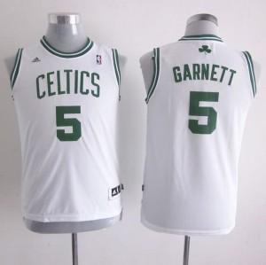 Maglie Bambini Garnett Boston Celtics Bianco