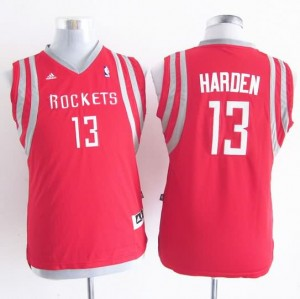 Maglie Bambini Harden Houston Rockets Rosso