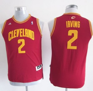 Maglie Bambini Irving Cleveland Cavaliers Rosso