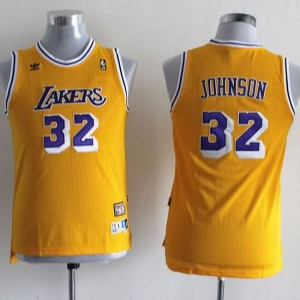 Maglie NBA Bambini Johnson Los Angeles Lakers Giallo