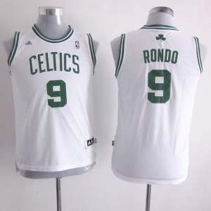 Maglie NBA Bambini Rondo Boston Celtics Bianco