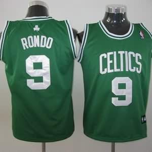 Maglie NBA Bambini Rondo Boston Celtics Verde