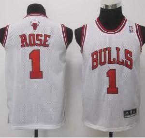 Maglie NBA Bambini Rose Chicago Bulls Bianco