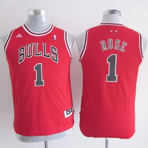 Maglie NBA Bambini Rose Chicago Bulls Rosso