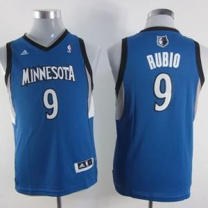 Maglie NBA Bambini Rubio Minnesota Timberwolves Blu