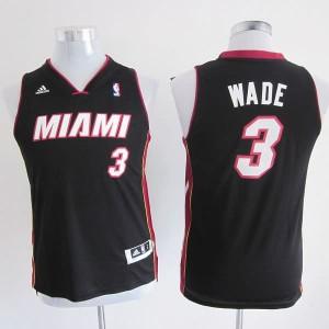 Maglie NBA Bambini Wade Miami Heats Nero