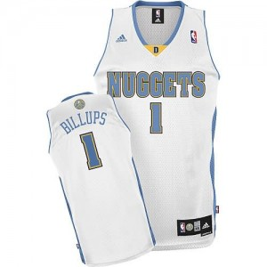 Maglie Shop Billups Denver Nuggets Bianco