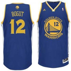 Canotte NBA Rivoluzione 30 Bogut Golden State Warriors Blu