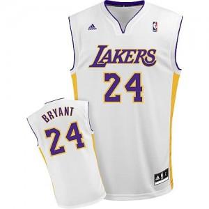 Canotte NBA Rivoluzione 30 Bryant Los Angeles Lakers Bianco