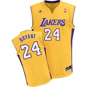 Canotte NBA Rivoluzione 30 Bryant Los Angeles Lakers Giallo