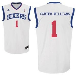 Maglie Shop Carter Williams Philadelphia 76ers Bianco