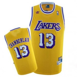Maglie Shop Chamberlain Los Angeles Lakers Giallo