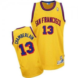 Canotte NBA Rivoluzione 30 Chamberlain Golden State Warriors Giallo