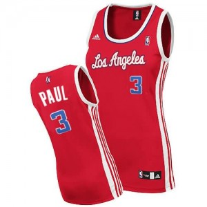 Maglie NBA Donna Chris Paul Los Angeles Clippers Rosso