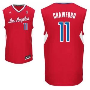 Canotte NBA Rivoluzione 30 Crawford Los Angeles Clippers Rosso