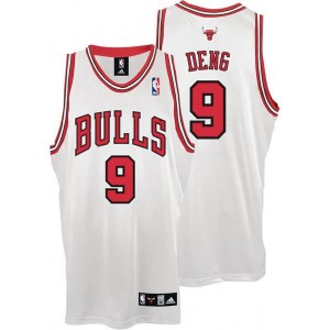 Maglie Shop Deng Chicago Bulls Bianco