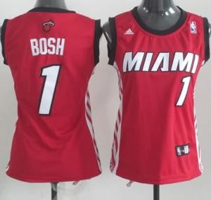 Maglie NBA Donna Bosh Miami Heats Rosso