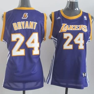 Maglie NBA Donna Bryant Los Angeles Lakers Porpora