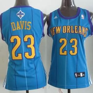 Maglie NBA Donna Davis New Orleans Hornets Blu