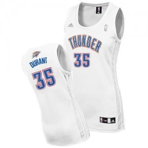 Maglie NBA Donna Durant Oklahoma City Thunder Bianco