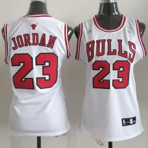 Maglie NBA Donna Jordan Chicago Bulls Bianco