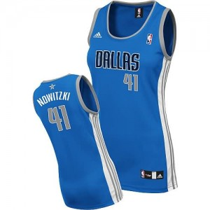 Maglie NBA Donna Nowitzki Dallas Mavericks Blu