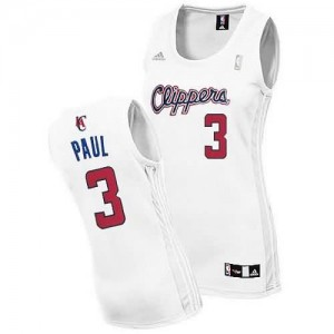 Maglie NBA Donna Paul Los Angeles Clippers Bianco