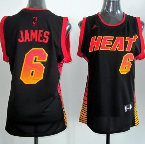 Italia Maglie Donna Vibe Miami Heats James