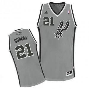 Canotte NBA Rivoluzione 30 Duncan Spurs San Antonio Spurs Grigio