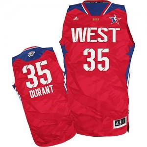 Canotte NBA Durant All Star 2013 Rosso