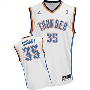 Maglie Shop Durant Oklahoma City Thunder Bianco