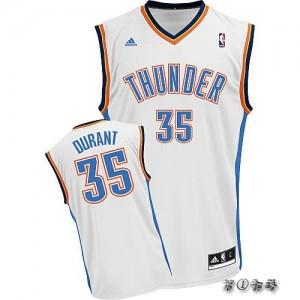 Canotte NBA Rivoluzione 30 Durant Oklahoma City Thunder Bianco