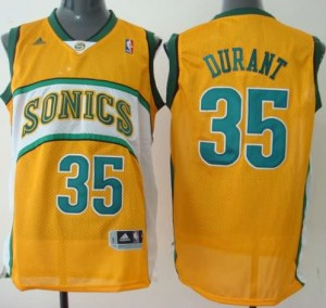Maglie Shop Durant Seattle Sonics Giallo