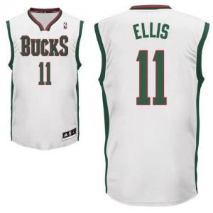 Canotte NBA Rivoluzione 30 Ellis Milwaukee Bucks Bianco