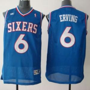 Maglie Basket Erving Philadelphia 76ers Blu