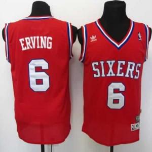Maglie Basket Erving Philadelphia 76ers Rosso