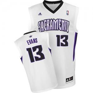 Maglie Basket Evans Sacramento Kings Bianco