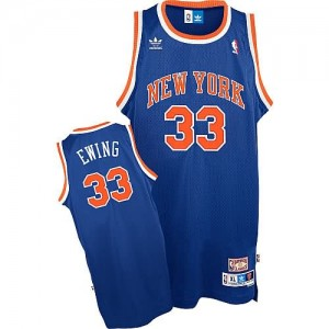 Maglie Basket Ewing New York Knicks Blu