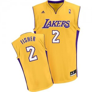 Maglie Shop Fisher Los Angeles Lakers Giallo