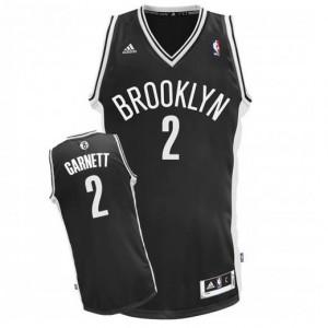 Canotte NBA Rivoluzione 30 Garnett Brooklyn Nets Nero