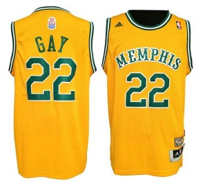 Maglie Shop Gay Memphis Grizzlies Giallo