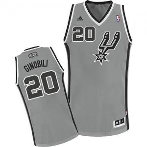 Canotte NBA Rivoluzione 30 Ginobili San Antonio Spurs Grigio