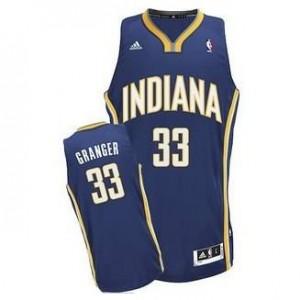 Canotte NBA Rivoluzione 30 Granger Indiana Pacers Blu