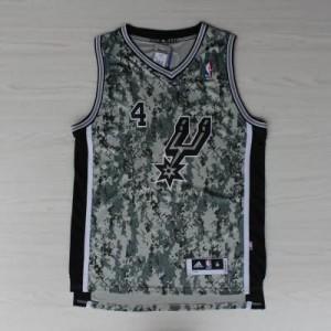 Canotte NBA Rivoluzione 30 Green San Antonio Spurs Camouflage