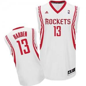 Canotte NBA Rivoluzione 30 Harden Houston Rockets Bianco